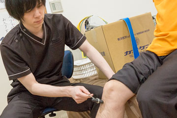 膝の検査・確認